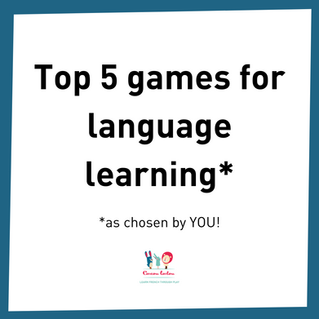 Top 5 games for language learning