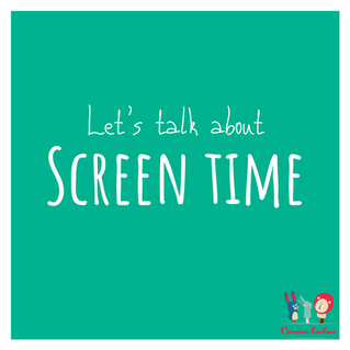 Let's talk about screen-time...