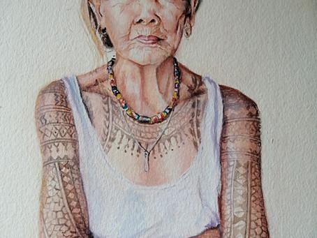 Portraits aquarelle grand format sur Devis