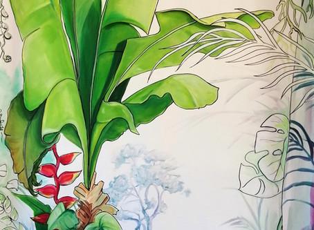 Votre fresque sur Kakemono ou sur votre mur .