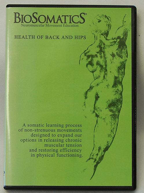 Health Of Back & Hips-DVD