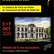 """Succès de l'exposition """"château de Vitry et assassinat de Petit-Val"""""""