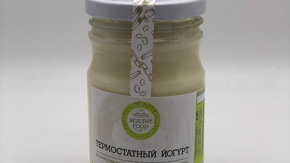 Термостатный соевый йогурт