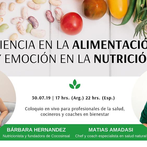 Coloquio de Ciencia en la Alimentación y Emoción en la Nutrición
