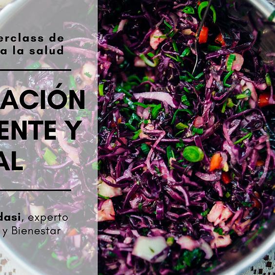 Masterclass de Alimentación Consciente Vital con Matias Amadasi