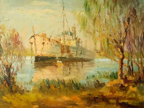 Barco en espera