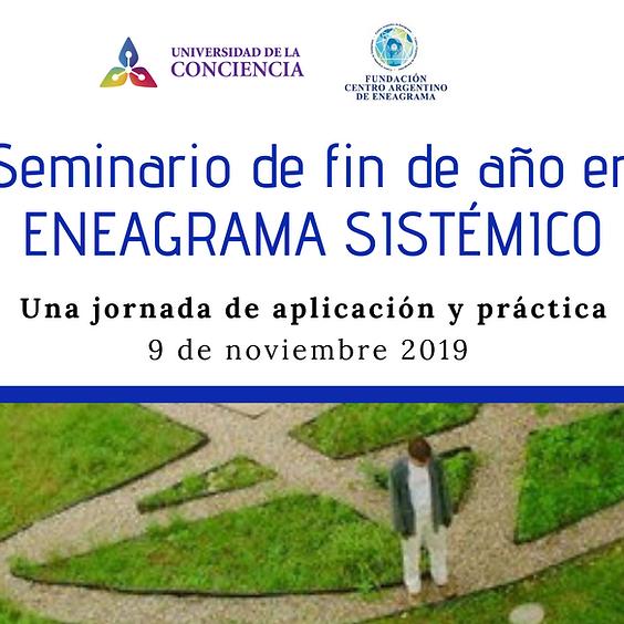 Seminario intensivo de fin de año ENEAGRAMA SISTÉMICO (aplicación y práctica)