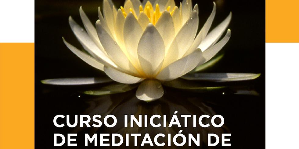 Curso iniciático de Meditación