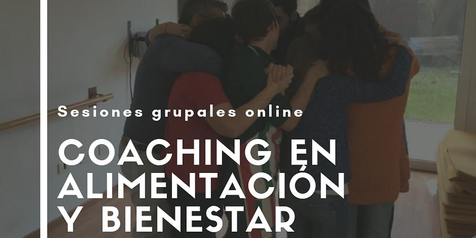 Alimentación y Bienestar (Sesión de Coaching grupal online)