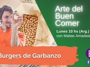 Burgers de Garbanzos saludables