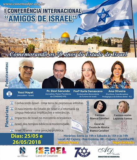 I CONFERÊNCIA AMIGOS DE ISRAEL