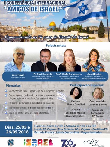 1a Conferência Internacional Amigos de Israel
