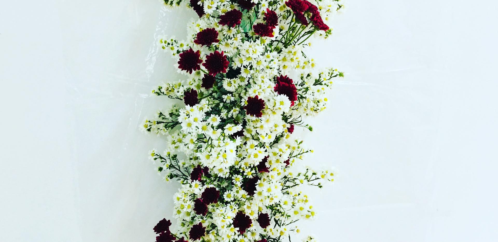 Cascata de Flores Cordão de Flores