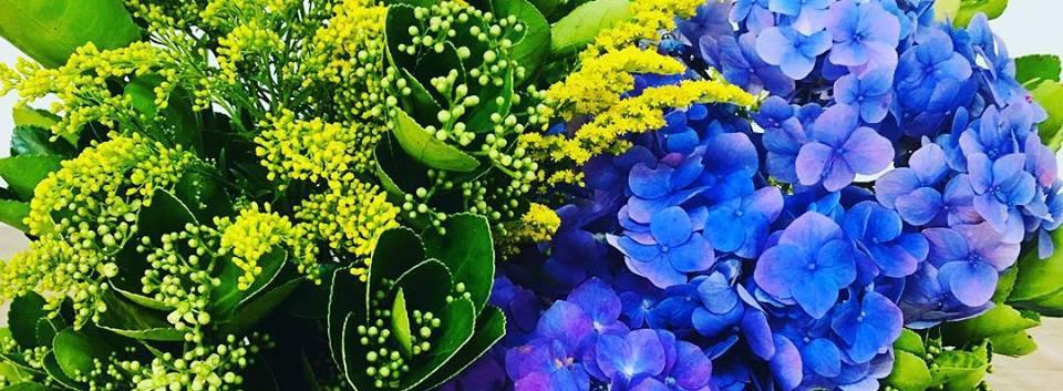 Arranjo Frontal de Flores