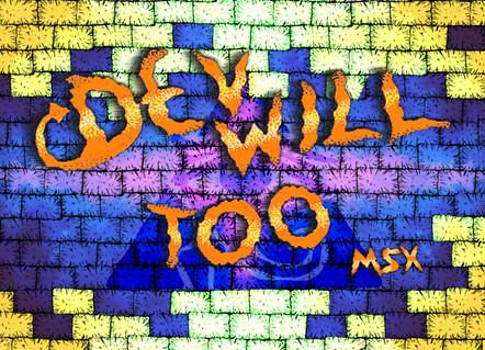 Devwill Too MSX Artwork