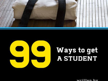 """A review of """"99 ways to get a student"""""""