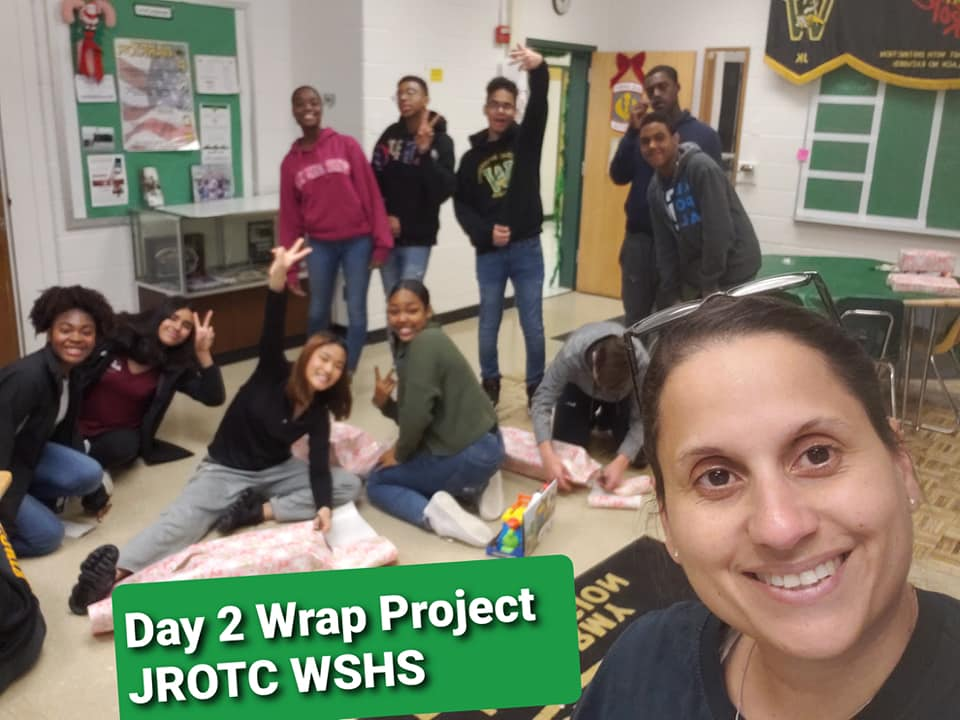Woodbridge WSHS Army JROTC Wrap Project