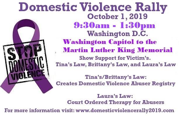 Domestic Violence Rally 2019