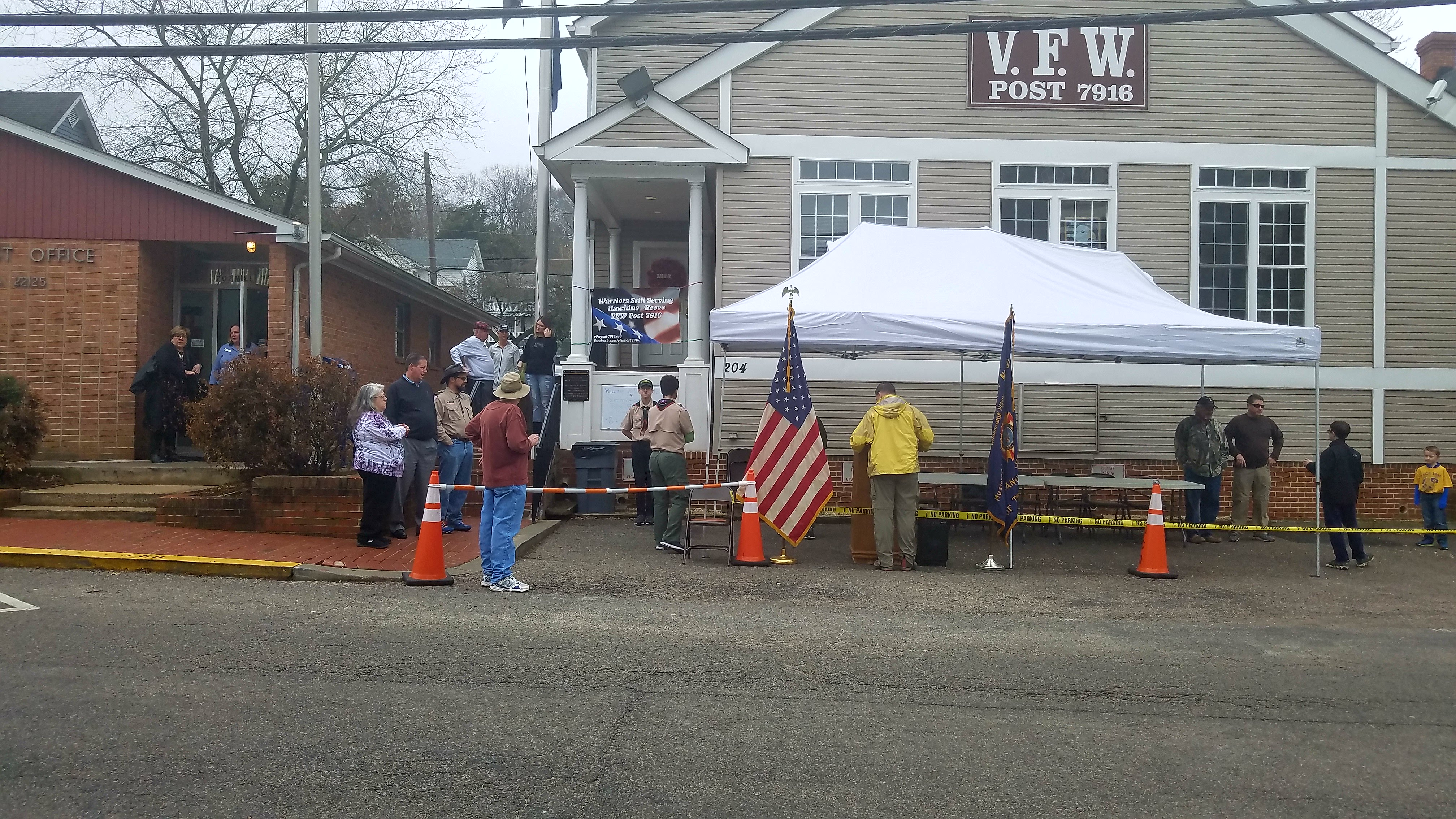 Thank you to VFW7916