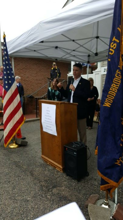 Rep Rob Wittman at FFT- Dropoff Party fo