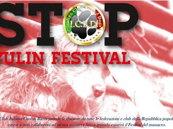 Stop al Festival di Yulin