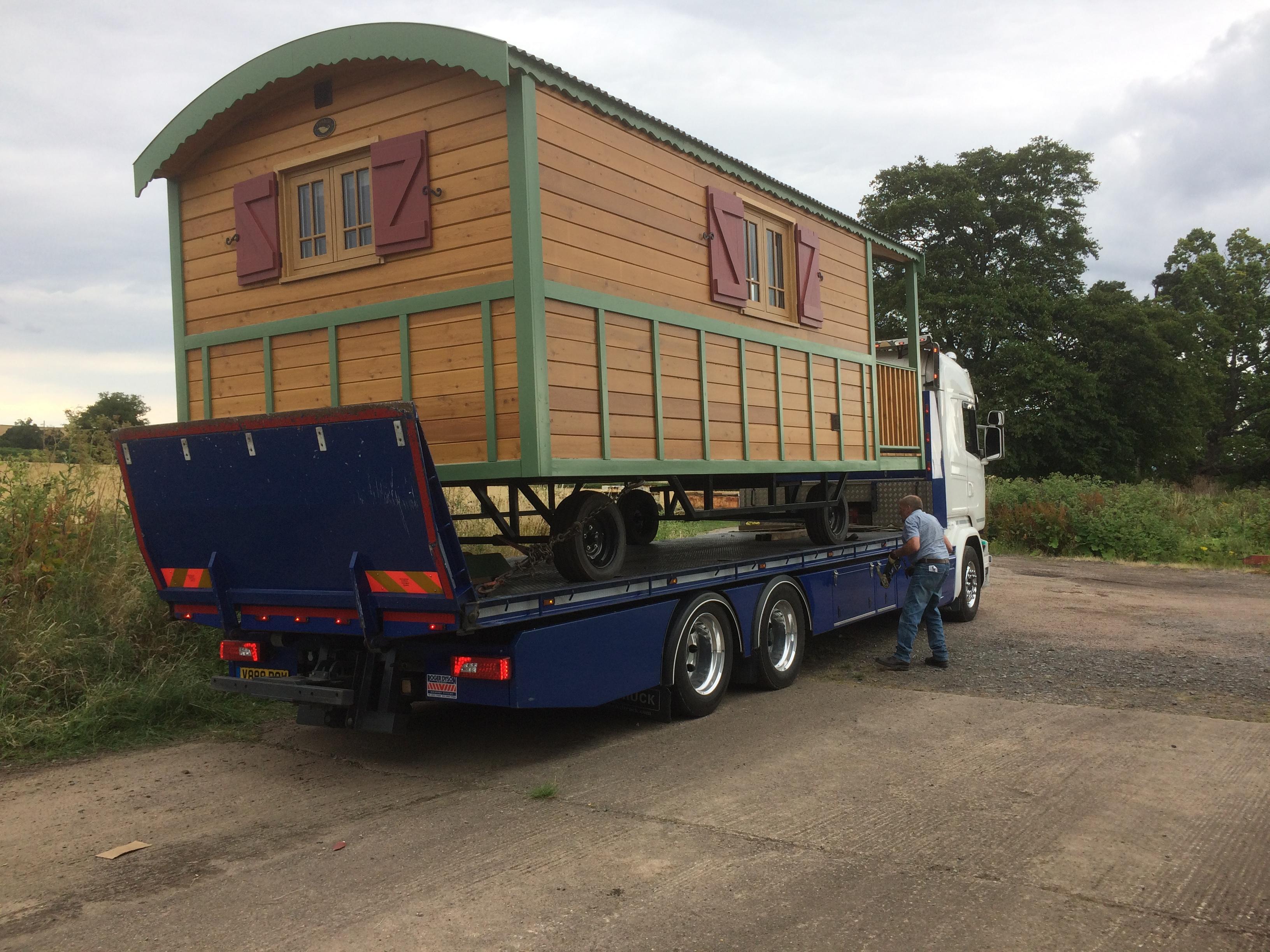 Gypsy caravan transport