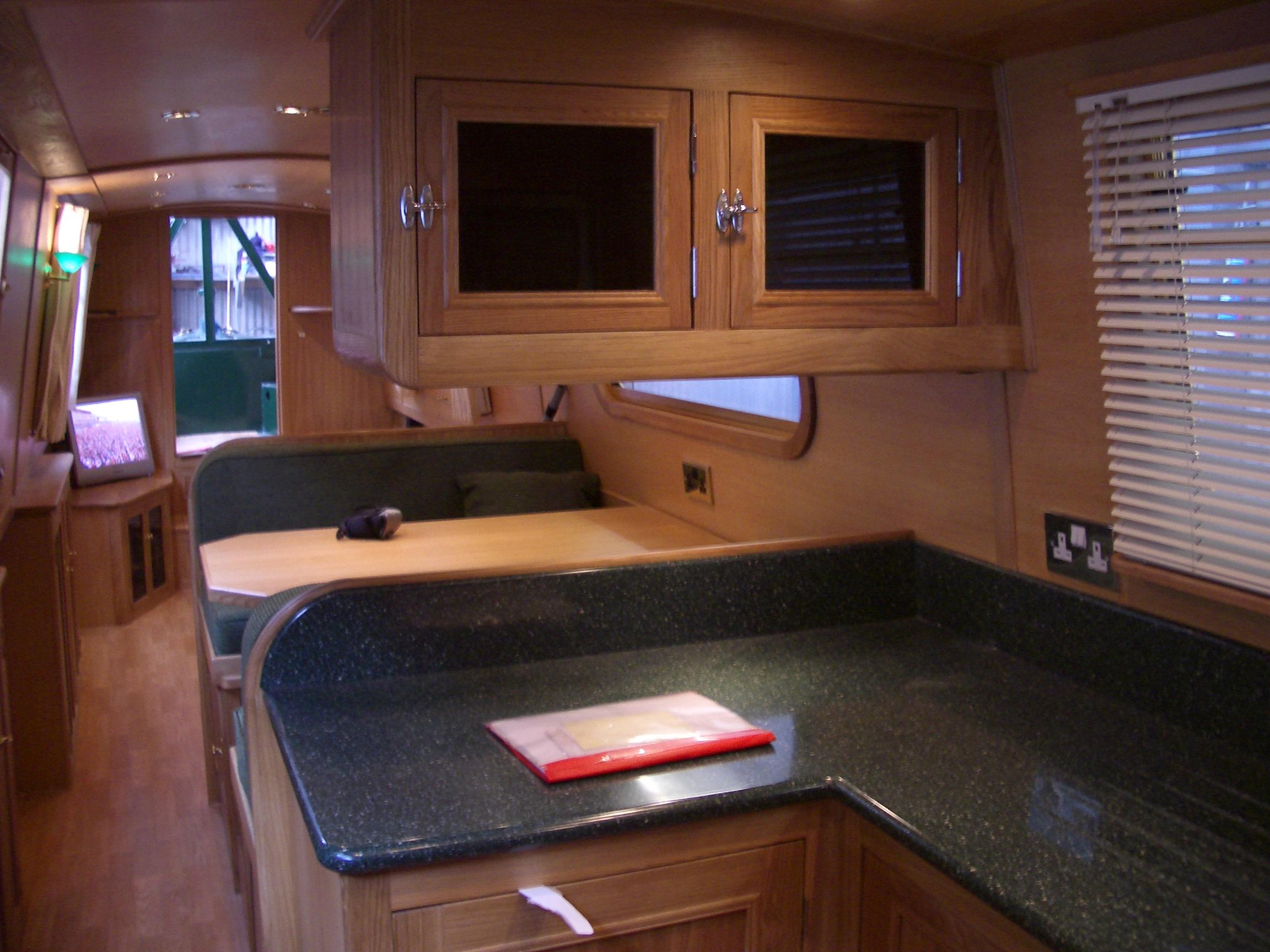 Fernhills boat galley