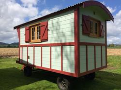 Spanish gypsy wagon