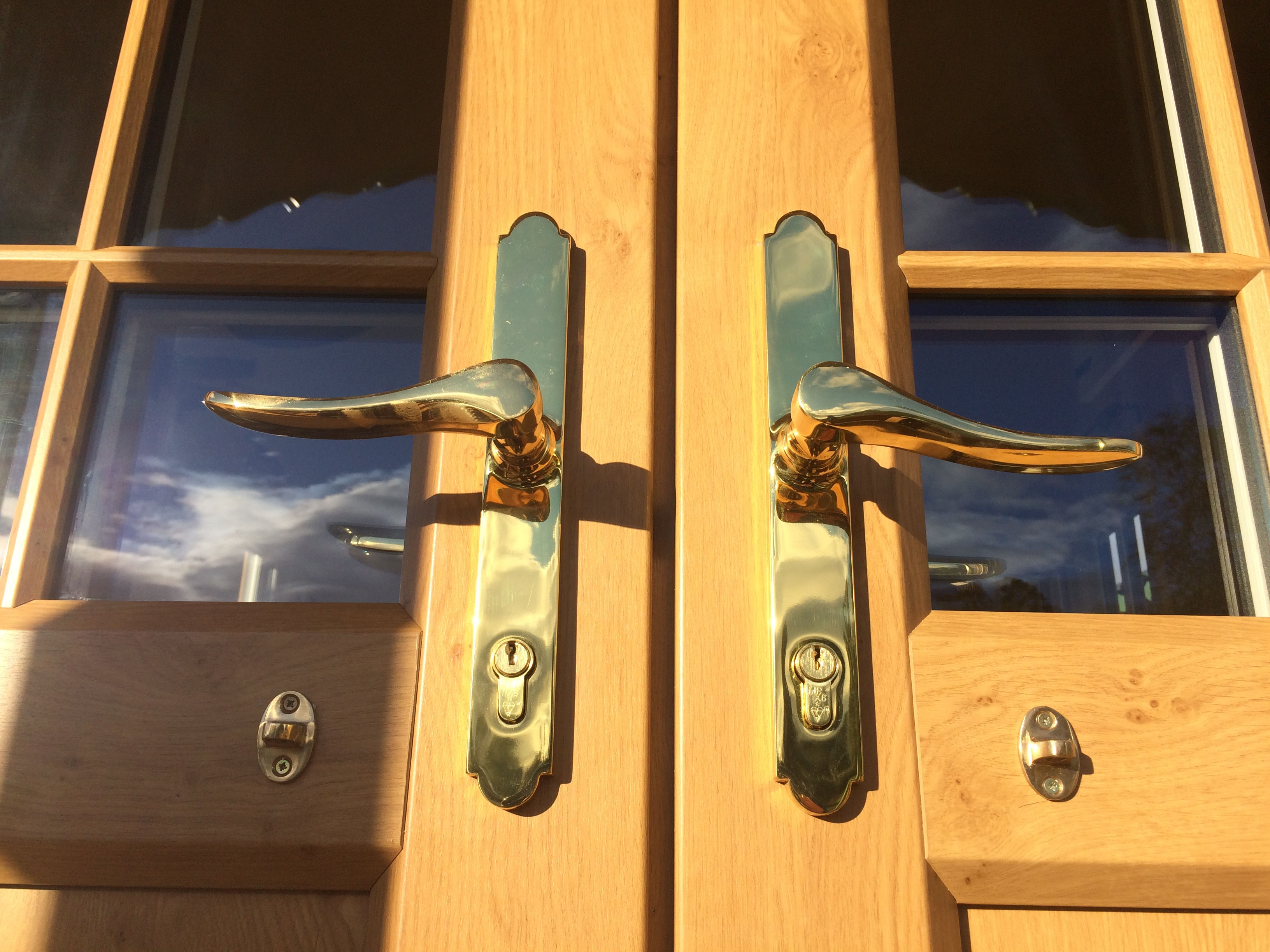 Roulotte french doors