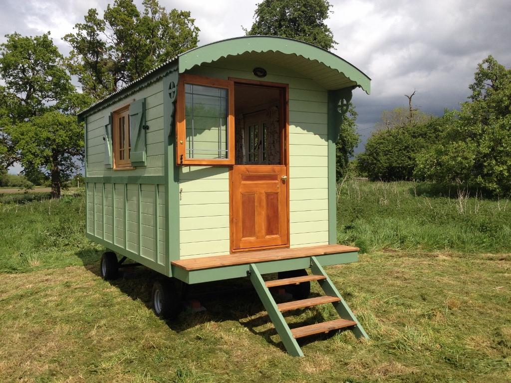 Gypsy Caravan style shepherds hut