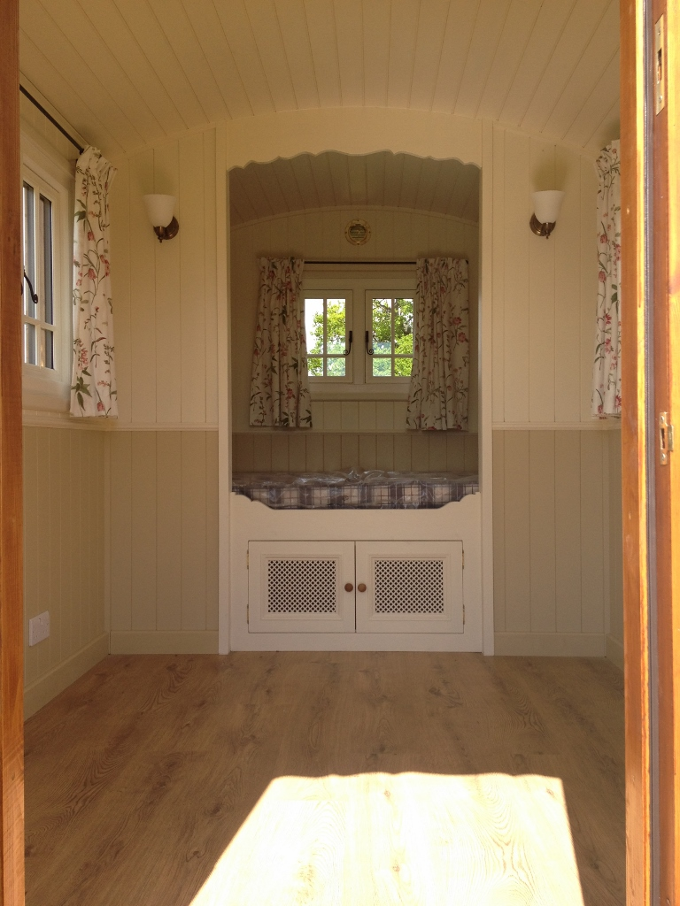 shepherds hut interior m