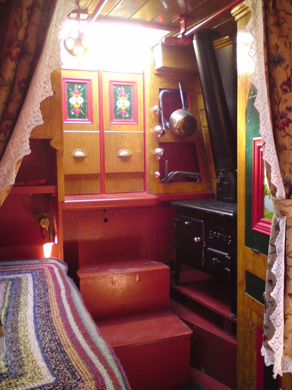Boatmans cabin RW Davis tug