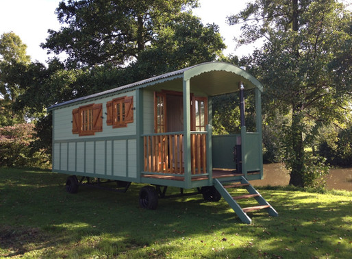 Introducing La Roulotte, A gypsy caravan with a French history