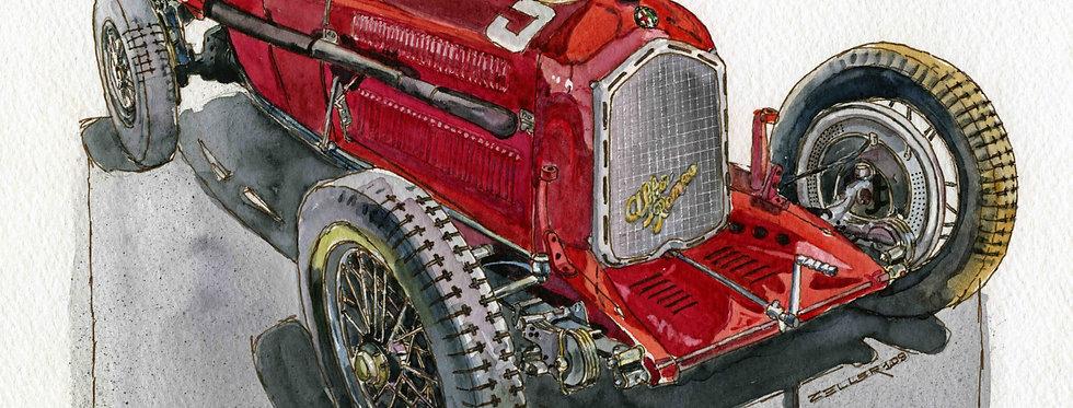 1934 Alfa Romeo P3 Racer