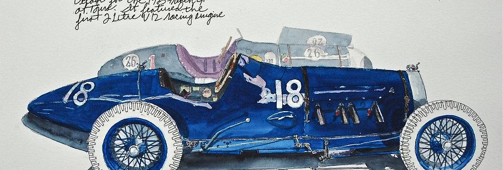 1923 Delage Bequet Racer