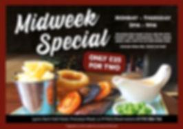 Midweek - Steak Special - Nant Hall - We