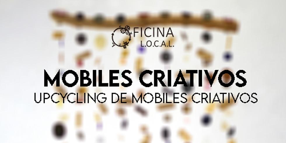 """WORKSHOP """"MOBILES CRIATIVOS"""" - UPCYCLING DE MOBILES CRIATIVOS"""