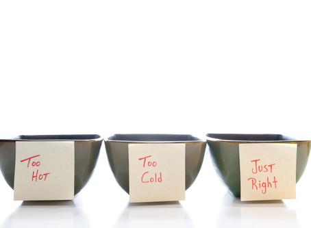 Goldilocks' Wish List