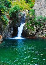 Samothraki waterfall