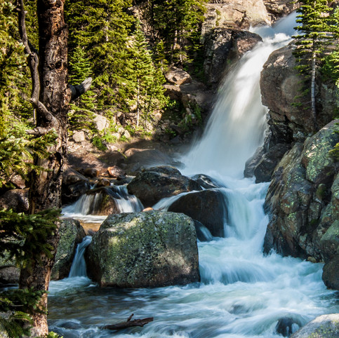 Alberta Falls, Rocky Mountain National Park