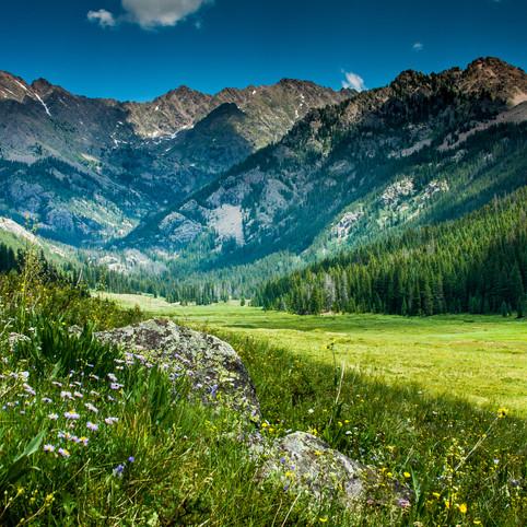 The Gore Range, Rocky Mountains