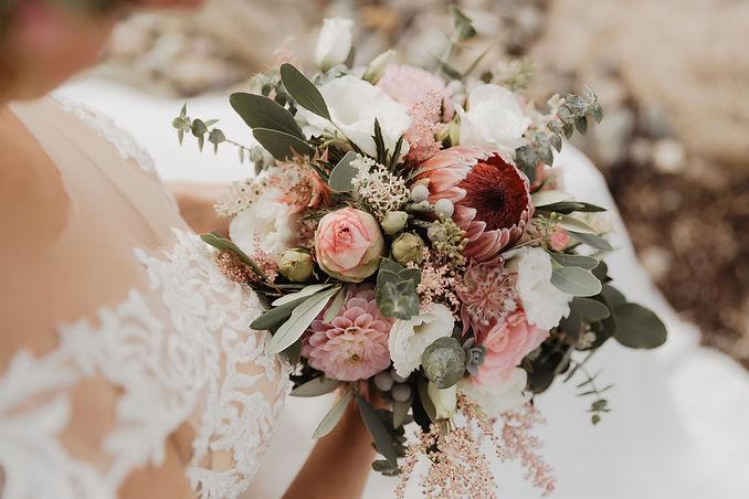 Detailbilder vom Brautstrauß
