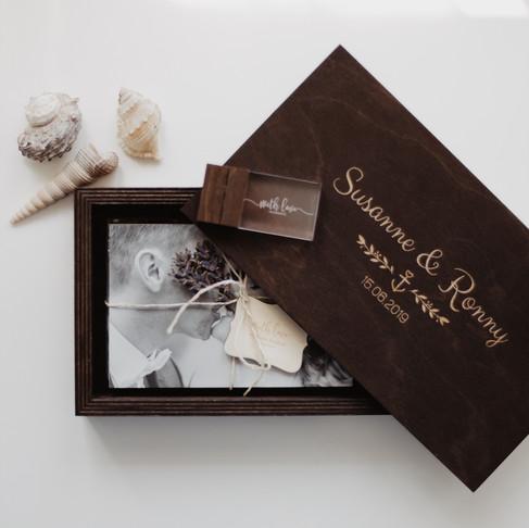 5 in 1 Geschenk, inkl. Minibilderrahmen
