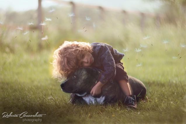 fotografo bambini e animali