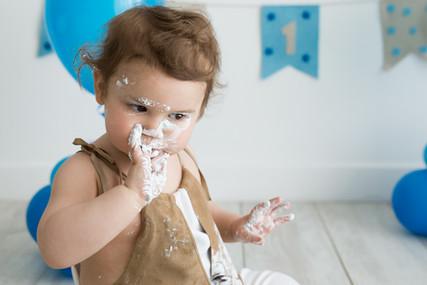 fotografo smash cake roma