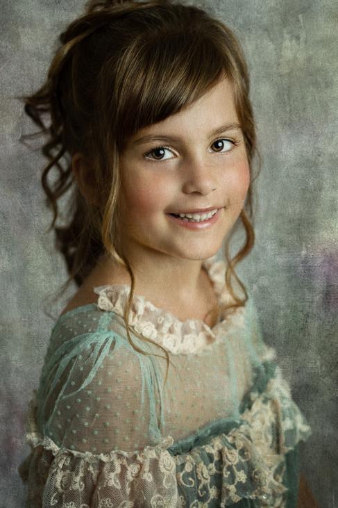 ritratti bambina roma