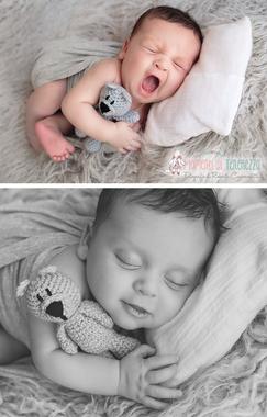 servizio fotografico neonato roma