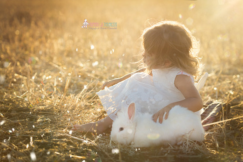 foto bambini e animali roma