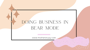Doing business in Bear Mode