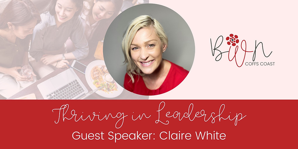 April Networking Luncheon with special guest Claire White